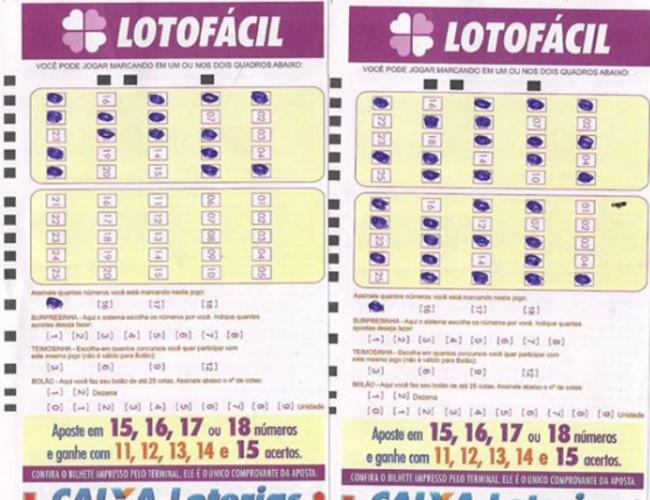 Lotofacil concurso 10