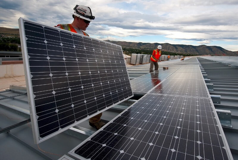 Instalador painel solar